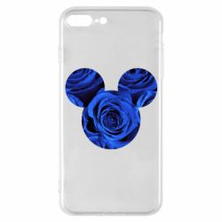 Чохол для iPhone 7 Plus Inner world flowers mickey mouse