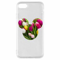 Чохол для iPhone 7 Inner world flowers mickey mouse