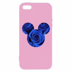 Чохол для iphone 5/5S/SE Inner world flowers mickey mouse