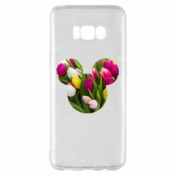 Чохол для Samsung S8+ Inner world flowers mickey mouse