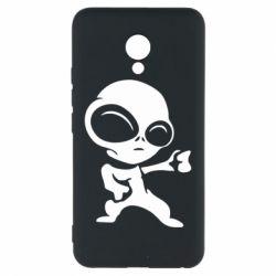 Чехол для Meizu M5 Инопланетянин - FatLine