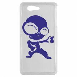 Чехол для Sony Xperia Z3 mini Инопланетянин - FatLine