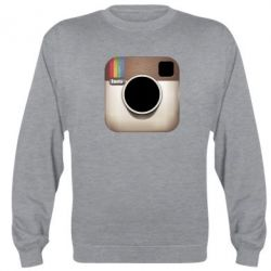 Реглан (свитшот) Instagram Logo - FatLine