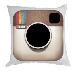 Подушка Instagram Logo - FatLine