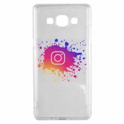 Чехол для Samsung A5 2015 Instagram spray