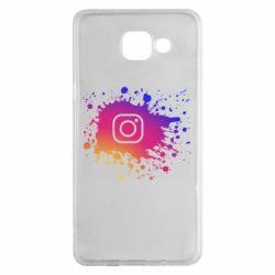Чехол для Samsung A5 2016 Instagram spray