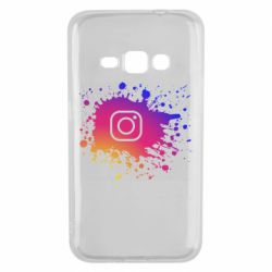 Чехол для Samsung J1 2016 Instagram spray