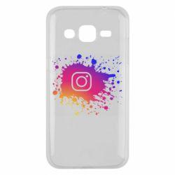 Чехол для Samsung J2 2015 Instagram spray