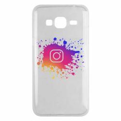 Чехол для Samsung J3 2016 Instagram spray