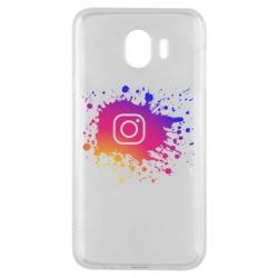 Чехол для Samsung J4 Instagram spray