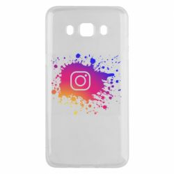 Чехол для Samsung J5 2016 Instagram spray