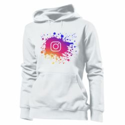Женская толстовка Instagram spray