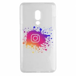 Чехол для Meizu 15 Plus Instagram spray