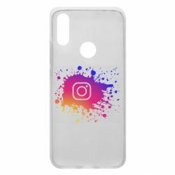 Чехол для Xiaomi Redmi 7 Instagram spray