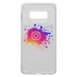Чехол для Samsung S10e Instagram spray