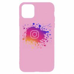 Чехол для iPhone 11 Pro Instagram spray