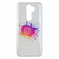 Чехол для Xiaomi Redmi Note 8 Pro Instagram spray