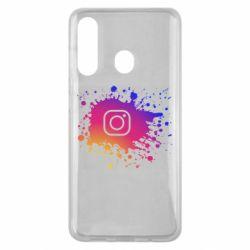 Чехол для Samsung M40 Instagram spray