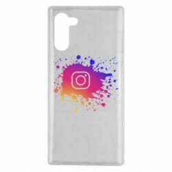 Чехол для Samsung Note 10 Instagram spray