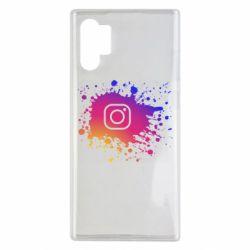 Чехол для Samsung Note 10 Plus Instagram spray