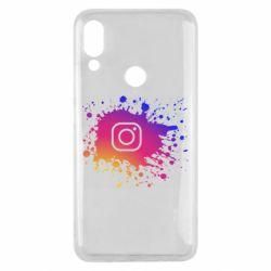 Чехол для Meizu Note 9 Instagram spray
