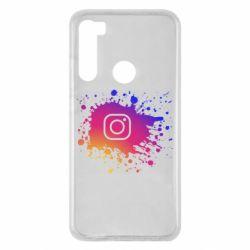 Чехол для Xiaomi Redmi Note 8 Instagram spray