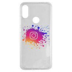 Чехол для Xiaomi Redmi Note 7 Instagram spray