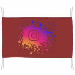 Флаг Instagram spray