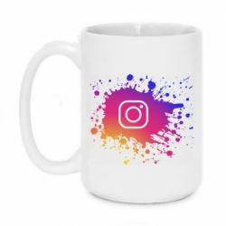 Кружка 420ml Instagram spray