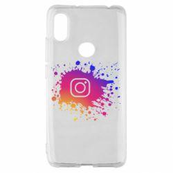 Чехол для Xiaomi Redmi S2 Instagram spray