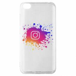 Чехол для Xiaomi Redmi Go Instagram spray