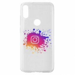 Чехол для Xiaomi Mi Play Instagram spray