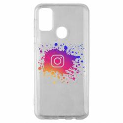 Чехол для Samsung M30s Instagram spray