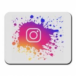 Коврик для мыши Instagram spray