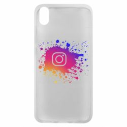 Чехол для Xiaomi Redmi 7A Instagram spray