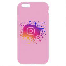 Чехол для iPhone 6 Plus/6S Plus Instagram spray