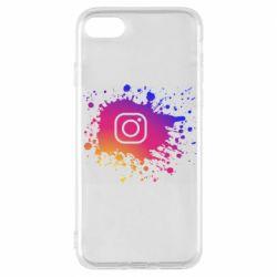 Чехол для iPhone 7 Instagram spray
