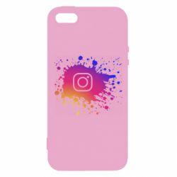Чехол для iPhone5/5S/SE Instagram spray