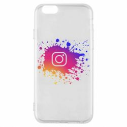 Чехол для iPhone 6/6S Instagram spray