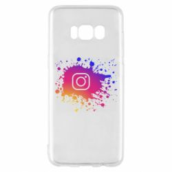 Чехол для Samsung S8 Instagram spray