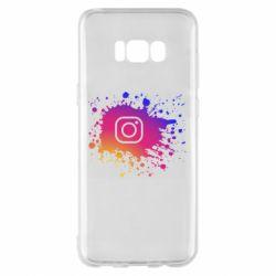 Чехол для Samsung S8+ Instagram spray