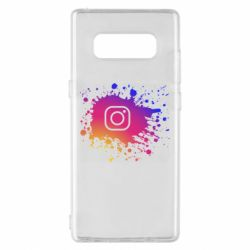 Чехол для Samsung Note 8 Instagram spray