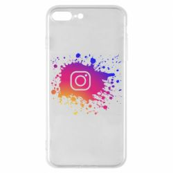 Чехол для iPhone 8 Plus Instagram spray