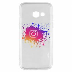 Чехол для Samsung A3 2017 Instagram spray