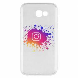Чехол для Samsung A7 2017 Instagram spray