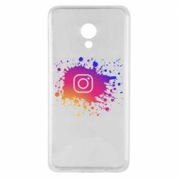 Чехол для Meizu M5 Instagram spray
