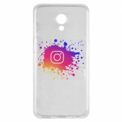 Чехол для Meizu M6s Instagram spray