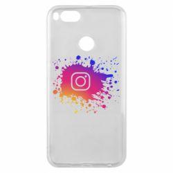 Чехол для Xiaomi Mi A1 Instagram spray