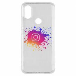Чехол для Xiaomi Mi A2 Instagram spray