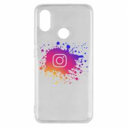 Чехол для Xiaomi Mi8 Instagram spray